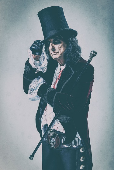 """Alice-Cooper_Paranormal_press-pictures_online_print_copyright-earMUSIC_credit-Rob-Fenn_3 """"PARANORMAL is like 12 great episodes of The Twilight Zone,"""" laughs Alice Cooper, """"each song tells its own twisted little tale."""""""