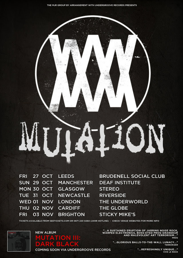 Mutation-Tour Mutation: A lesson in extreme metal courtesy of Ginger Wildheart