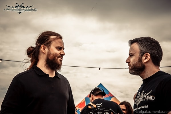 """Decapitated_1-1 Interview with Waclaw """"Vogg"""" Kieltyka  (Guitars) of Decapitated at Bloodstock on 11th of August, 2017"""