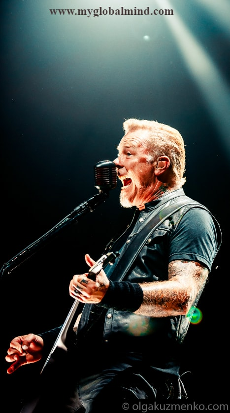 Metallica Live at Royal Arena, Copenhagen on September 2nd, 2017