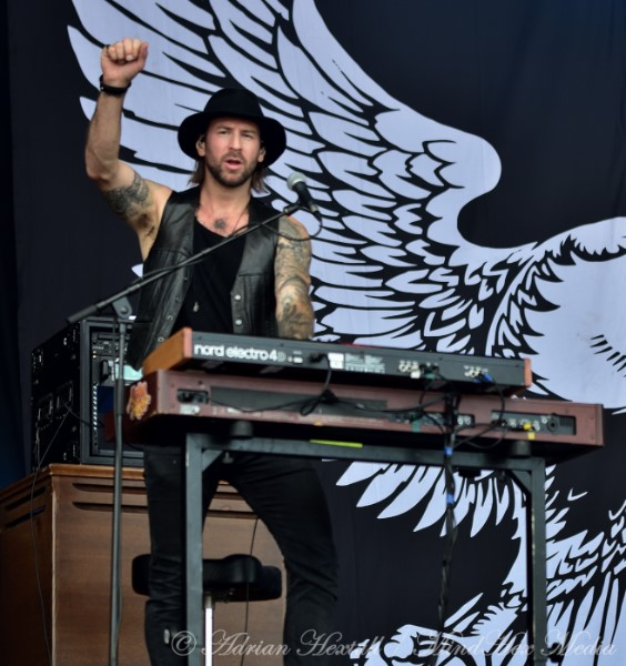 Interview with Brandon Bliss, keyboards, Monster Truck
