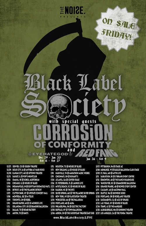 Coc_tour-min CORROSION OF CONFORMITY To Join Black Label Society On North American Winter Tour; Tickets On Sale FRIDAY!