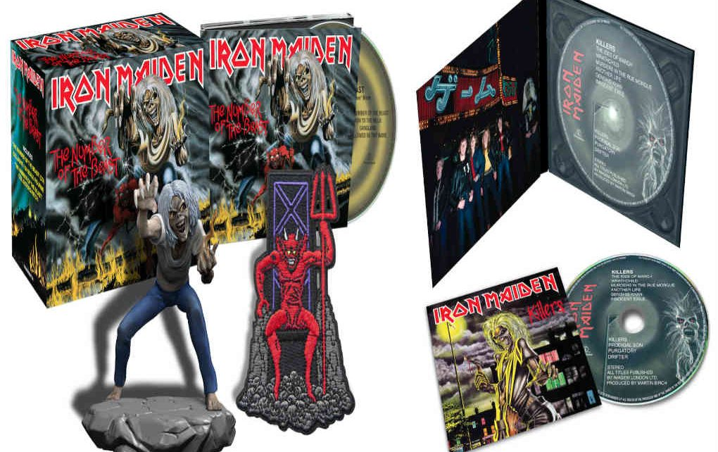 Iron Maiden S Acclaimed Studio Remasters Get The Cd