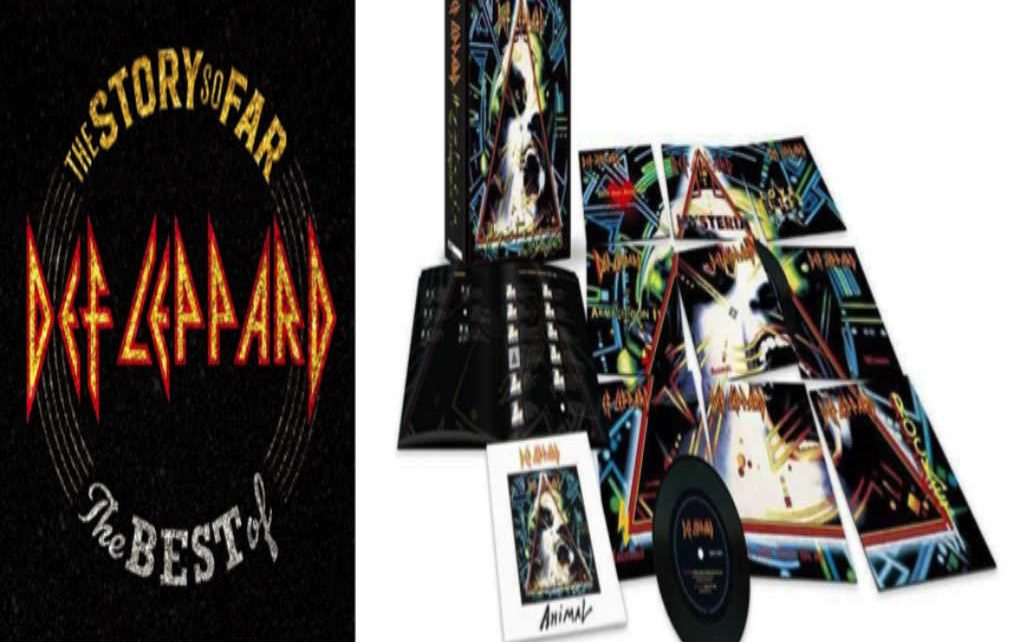 Def Leppard Release The Story So Far The Best Of On