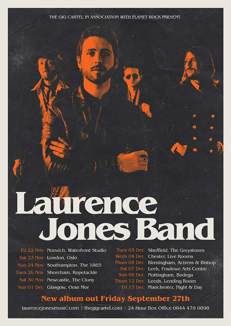 Laurence Jones Band To Release New Album - Your Online Magazine for