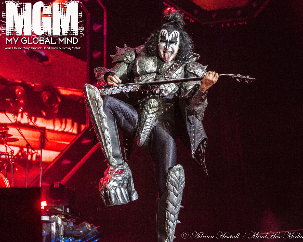 Kiss Live at The O2 Arena, London on July 11th, 2019