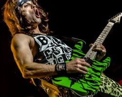 735074116 Steel Panther live at The SSE Arena Wembley, London  – 15th October 2016