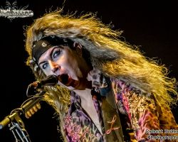 1219414893 Steel Panther live at The SSE Arena Wembley, London  – 15th October 2016